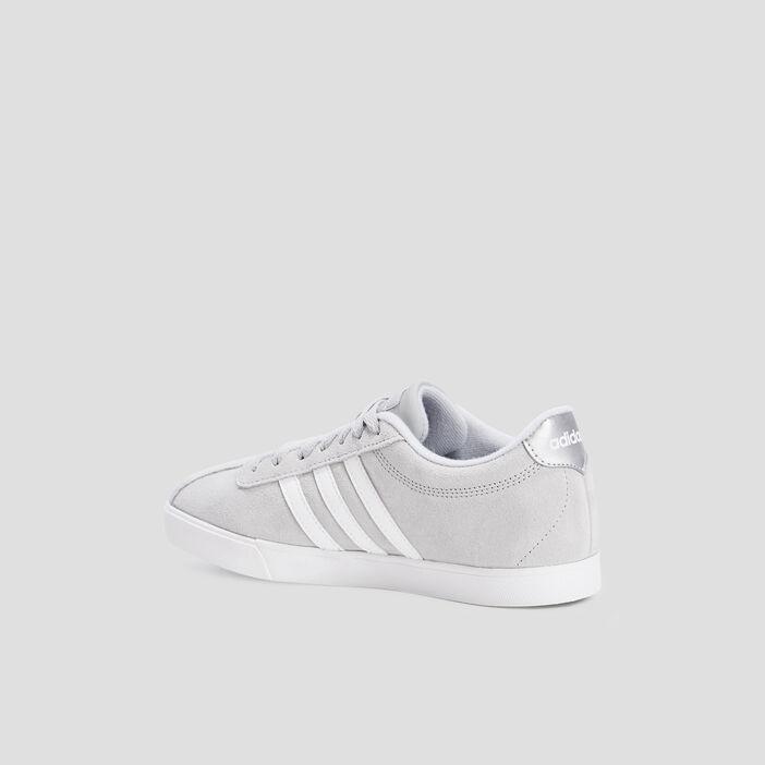 Tennis en toile Adidas femme gris