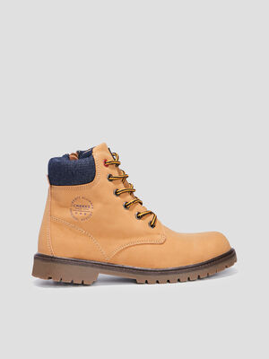 Bottines Creeks beige garcon