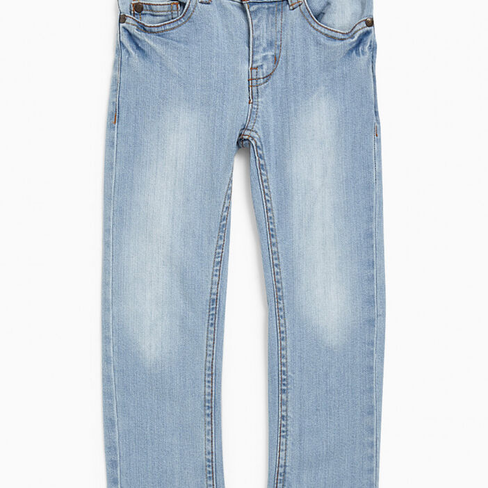 Jean slim brut garçon denim double stone