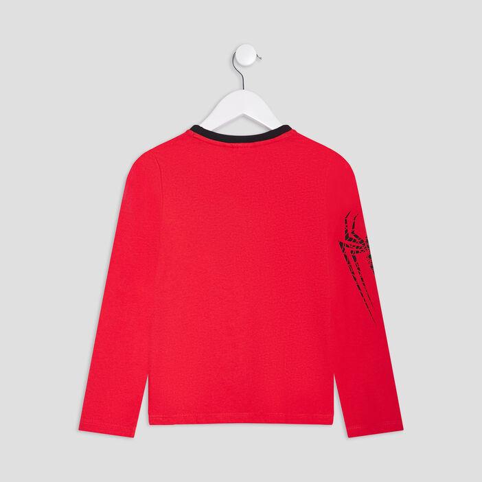 T-shirt Spiderman garçon rouge
