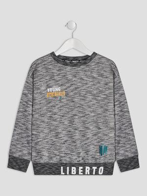 Sweat Liberto gris garcon