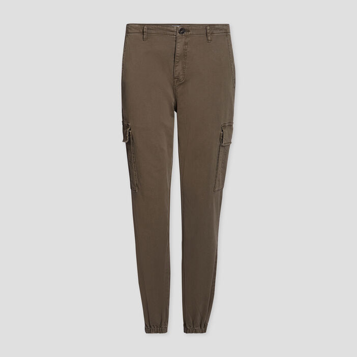 Pantalon battle 7/8ème femme vert kaki
