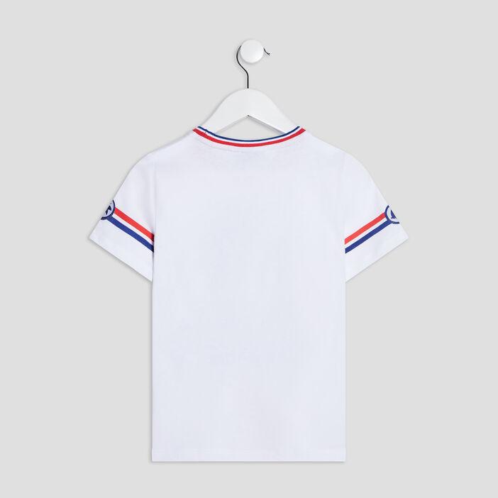 T-shirt manches courtes Sonic garçon blanc
