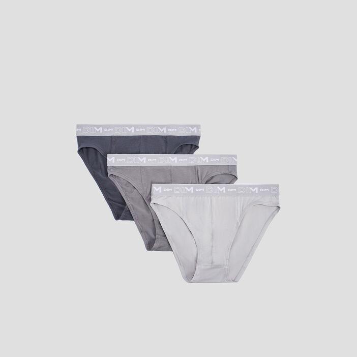 Lot 3 culottes DIM homme gris