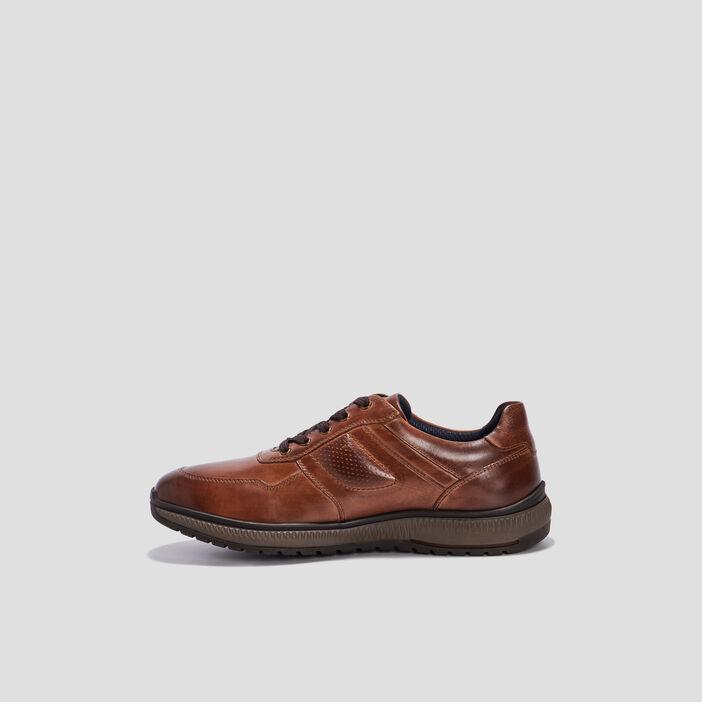 Sneakers à lacets Trappeur homme marron