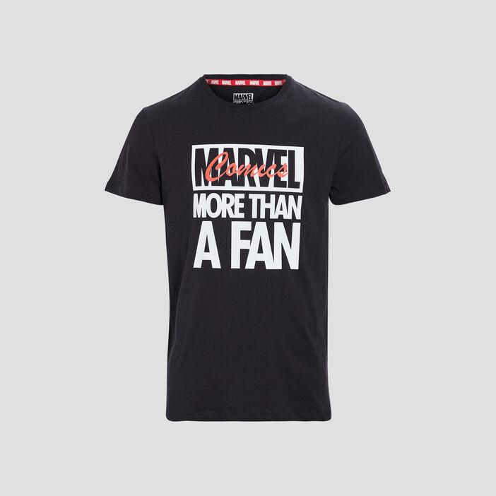 T-shirt manches courtes Marvel homme noir