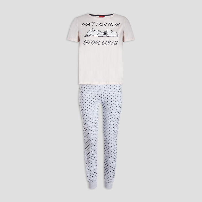Ensemble pyjama Snoopy femme rose