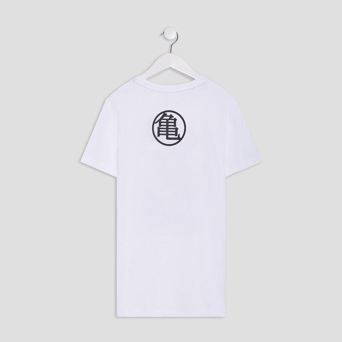 T-shirt Dragon Ball Z garçon blanc