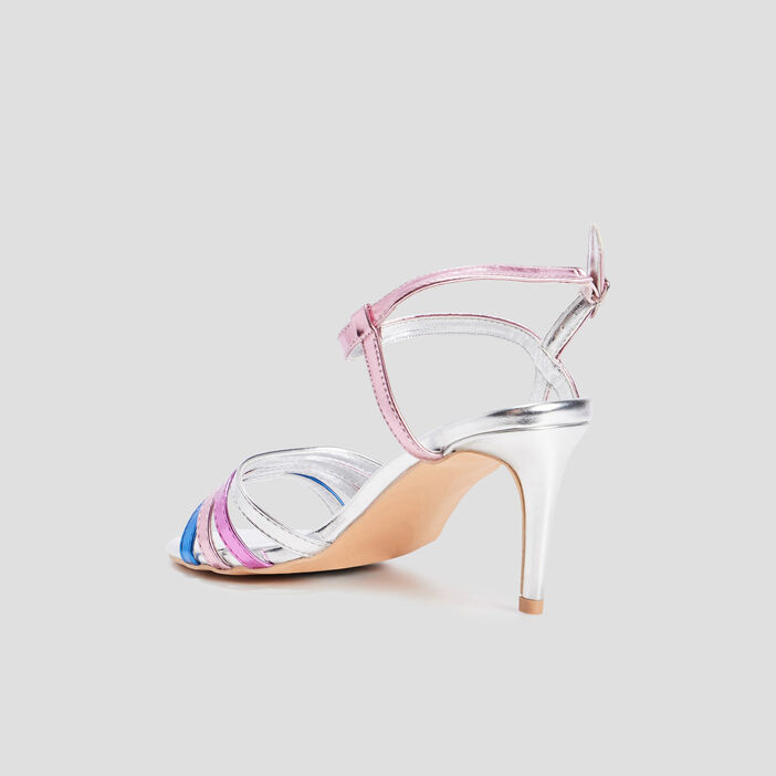 Sandales à talons Mosquitos femme multicolore