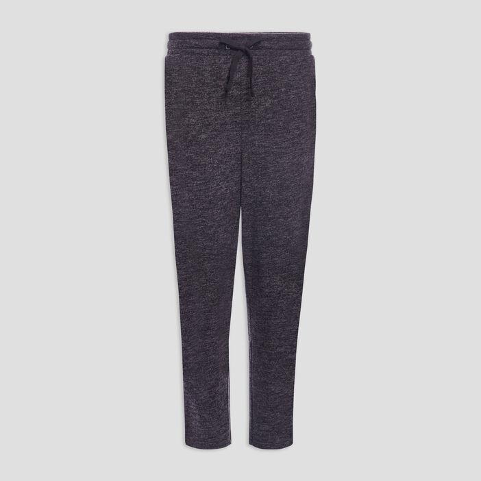 Pantalon jogging 7/8ème femme gris foncé