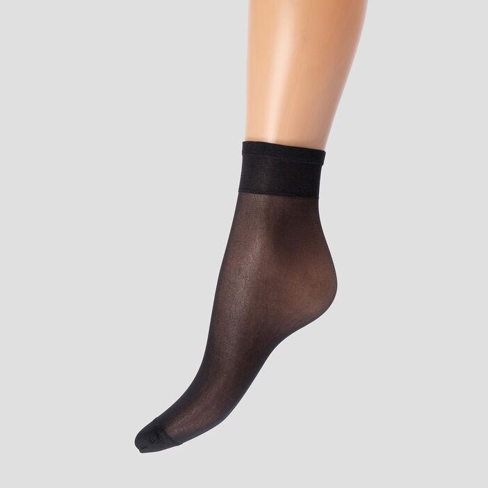 Lot 5 paires socquettes femme noir
