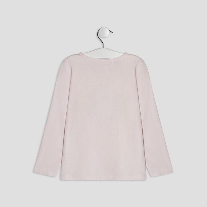 Ensemble pyjama 2 pièces fille rose clair