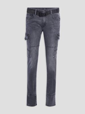Jeans slim Liberto gris fonce homme