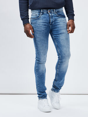 Jeans slim Creeks denim double stone homme