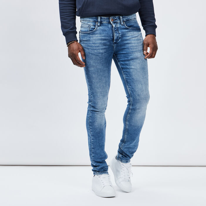 Jeans slim Creeks homme denim double stone