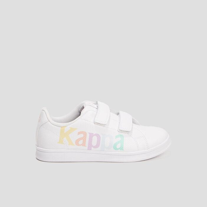 Tennis Kappa garçon blanc