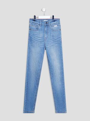 Jeans skinny stretch Creeks denim dirty garcon