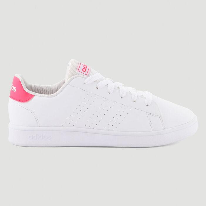 Tennis Adidas ADVANTAGE E fille blanc
