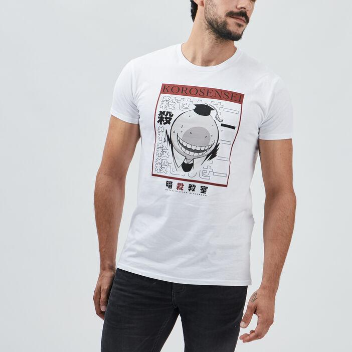T-shirt Assassination homme blanc