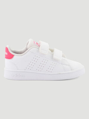 Tennis Adidas ADVANTAGE I blanc fille