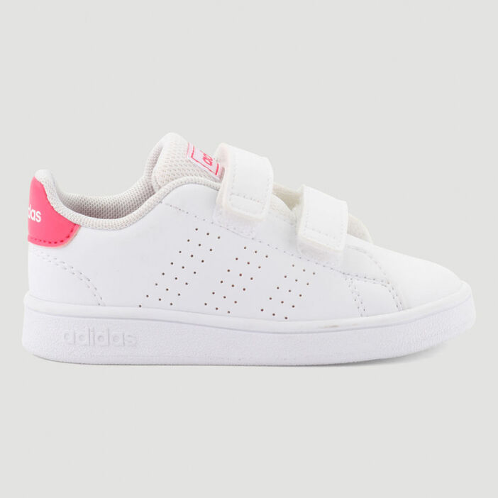 Tennis Adidas ADVANTAGE I fille blanc