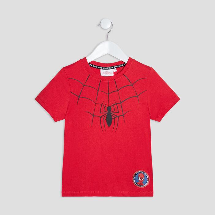 T-shirt Spider-Man garçon rouge