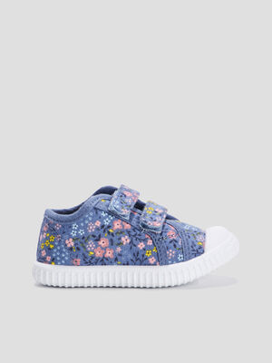 Baskets tennis denim used bebef