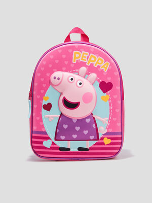 Sac a dos Peppa Pig rose
