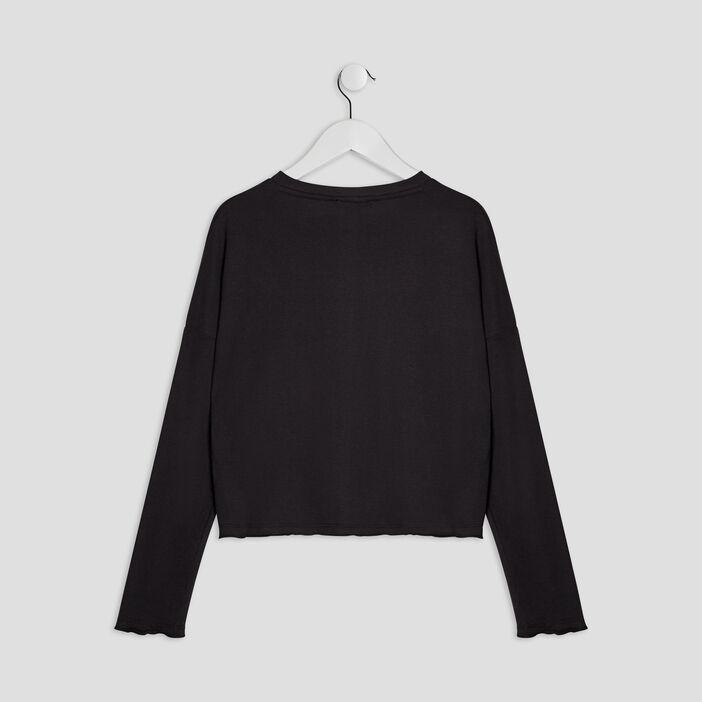 T- shirt Liberto fille noir