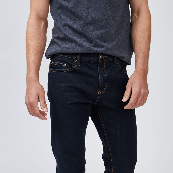 Jeans regular homme denim blue black