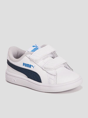 Tennis Puma blanc bebeg