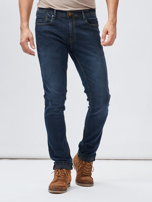 Jeans slim Creeks denim blue black homme