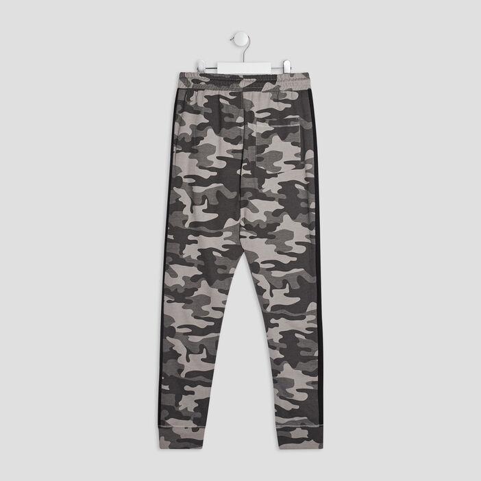 Pantalon jogging garçon gris
