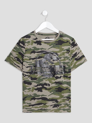 T shirt Jurassic Park multicolore garcon