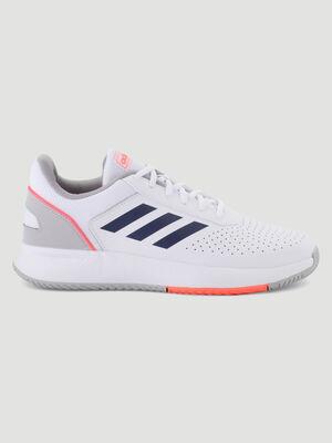 Runnings Adidas COURTSMASH blanc homme