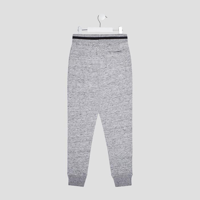 Jogging taille réglable garçon gris