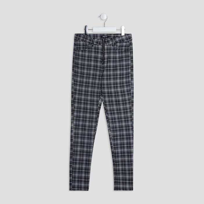 Pantalon droit Liberto fille noir