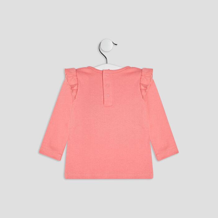 Ensemble pyjama 2 pièces bébé fille rose