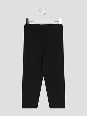 Pantalon legging 78eme noir fille