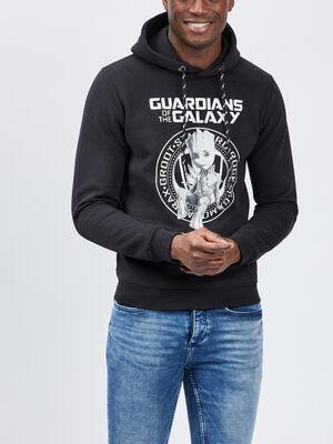 Sweat Gardiens de la Galaxie noir homme