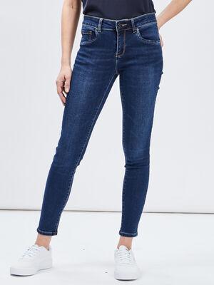 Jeans slim 78eme denim brut femme