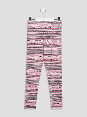 Leggings multicolore fille