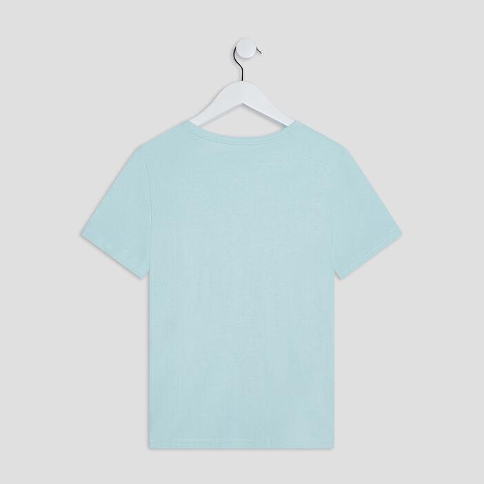 T-shirt Liberto garçon vert pastel