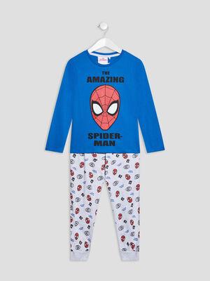 Ensemble pyjama Spider Man bleu garcon