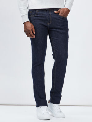 Jeans slim denim brut homme