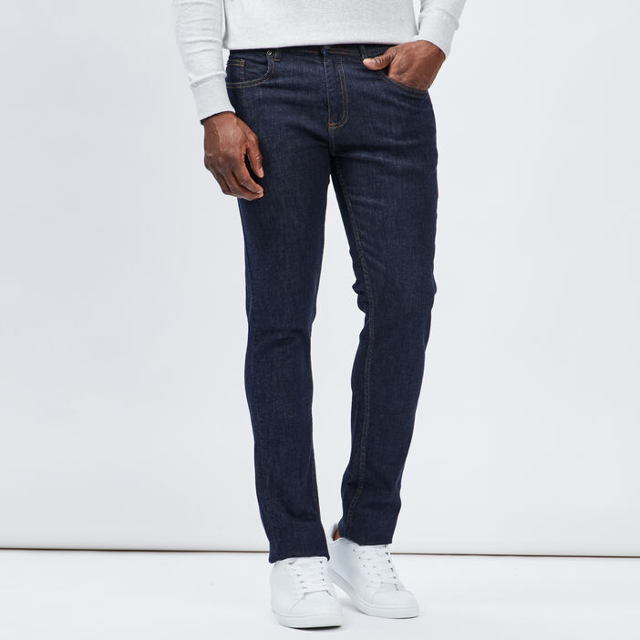 Jeans slim homme denim brut