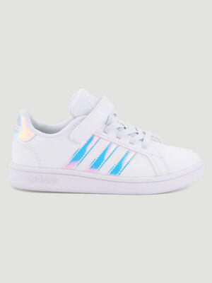 Tennis Adidas GRAND COURT blanc garcon