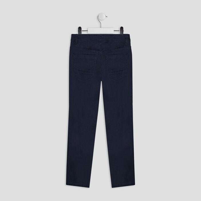 Pantalon regular garçon bleu marine
