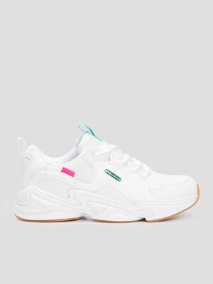 Runnings dad shoes LA Gear blanc femme
