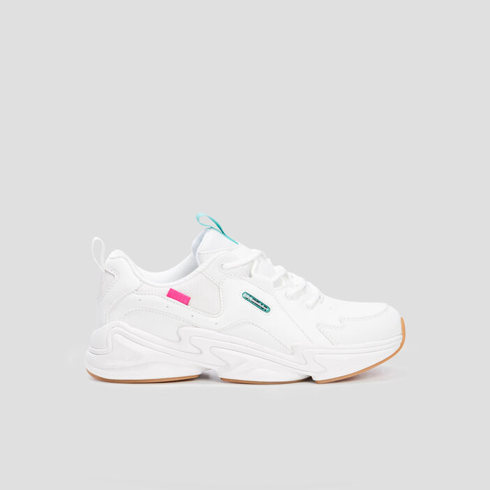 Runnings dad shoes LA Gear femme blanc